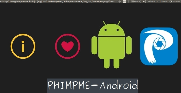 Getting Started Developing on Phimpme Android