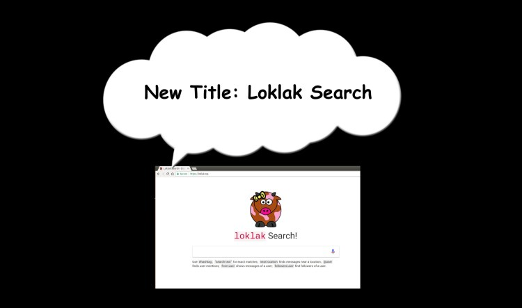 Creating new config to set Title of Loklak Webpages