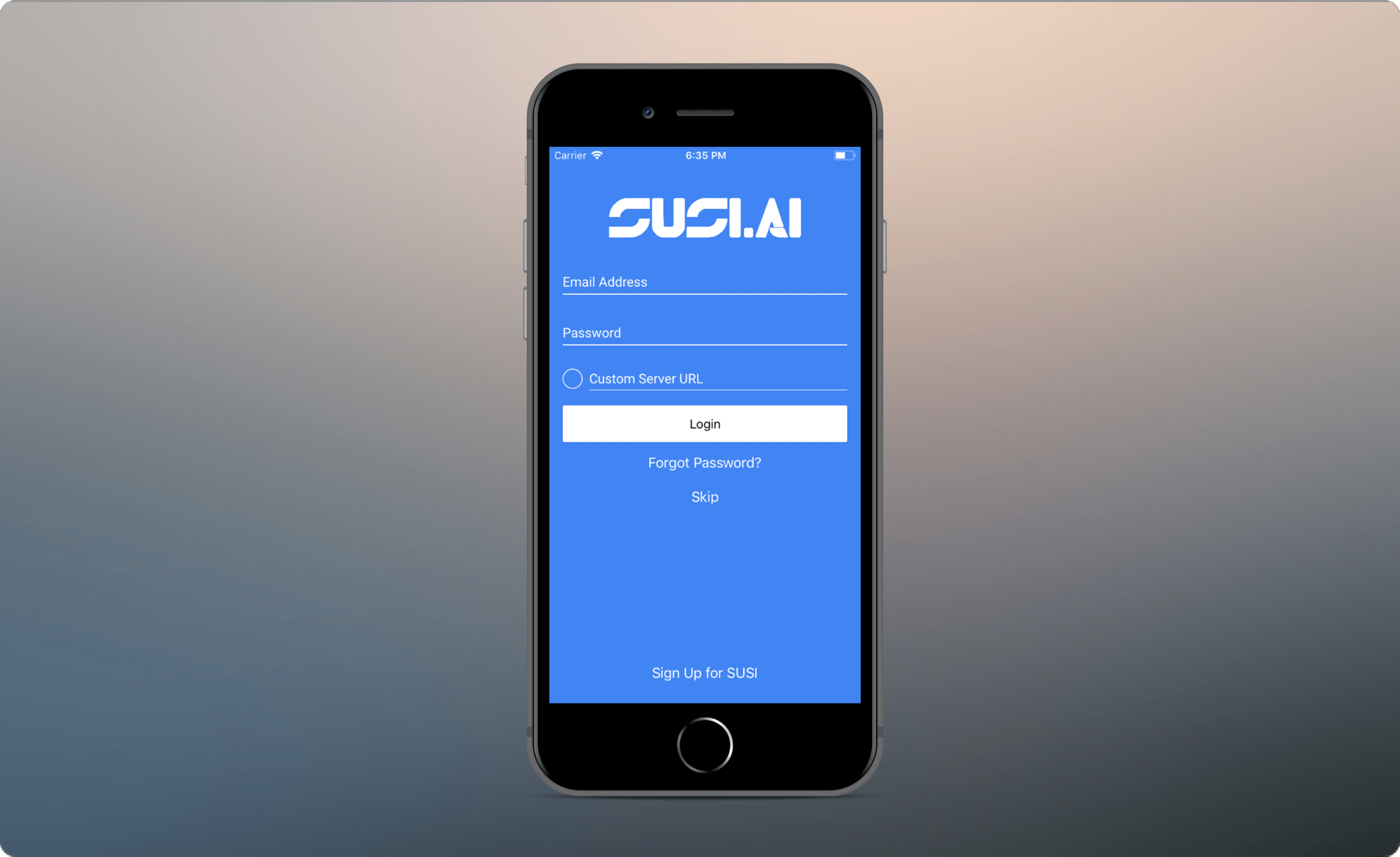 How Anonymous Mode is Implemented in SUSI iOS