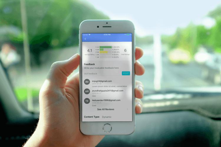 Displaying Skills Feedback on SUSI iOS