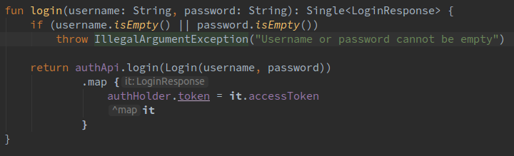 Making the Login fragment in the Open Event Android App