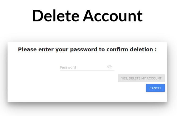 Delete User Account Service using LoginService.java API in SUSI.AI
