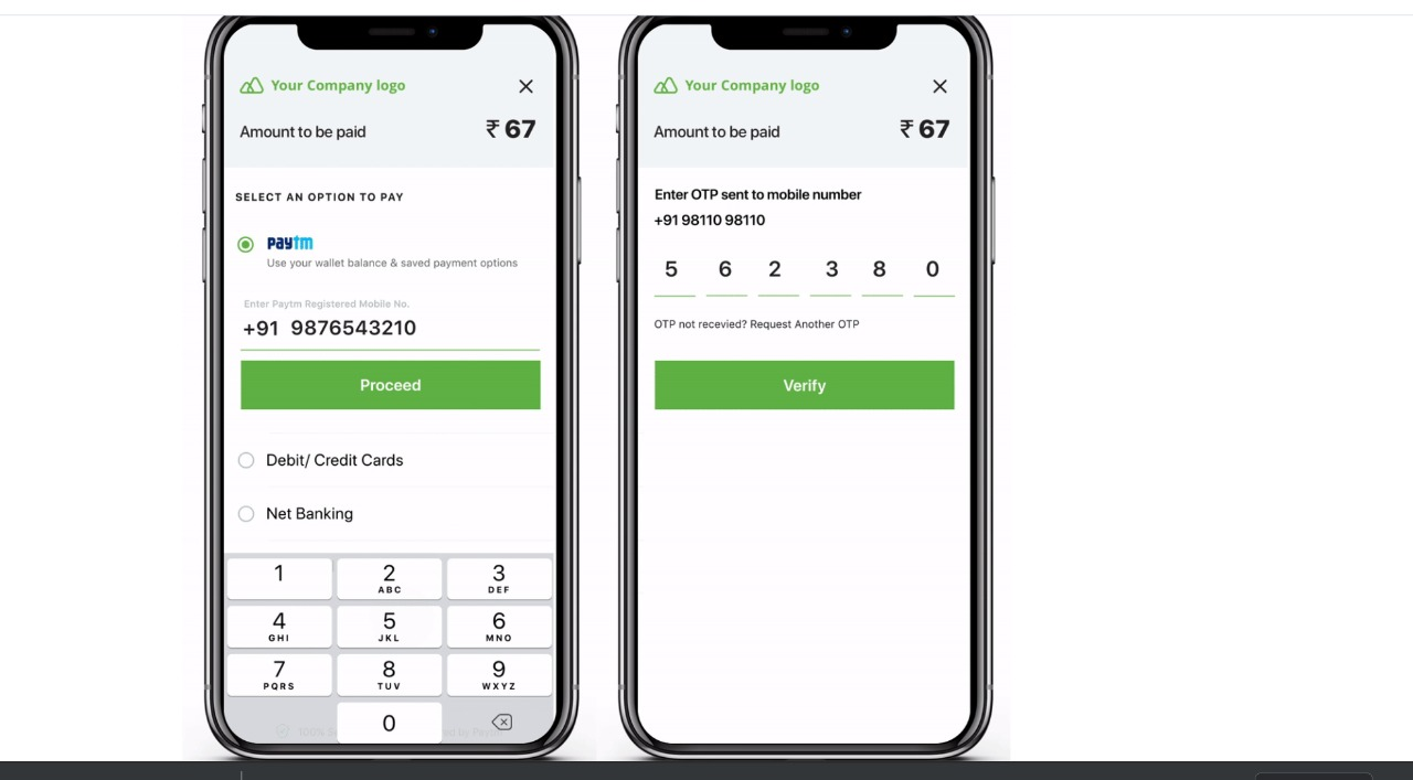 Designing PayTM Checkout Components