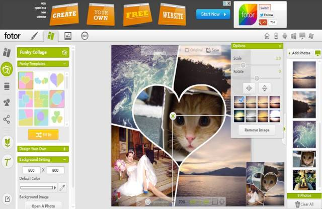Fotor Collage Maker