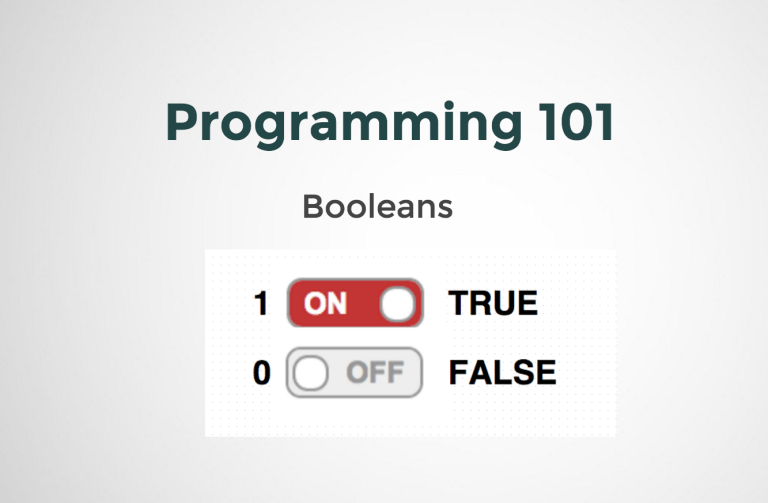 Introduction to Booleans