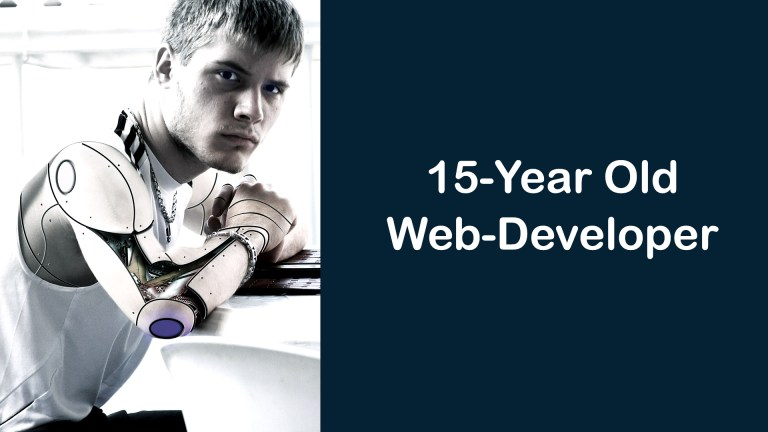 How A 15 Year Old Web Developer Is Grinding It Out