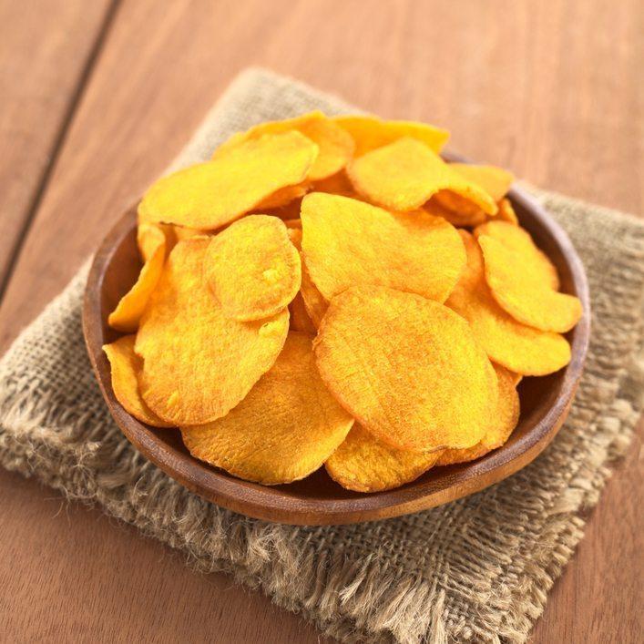 6. Zoete aardappelchips