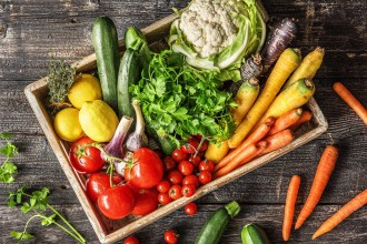 Les légumes rôtis à l'honneur