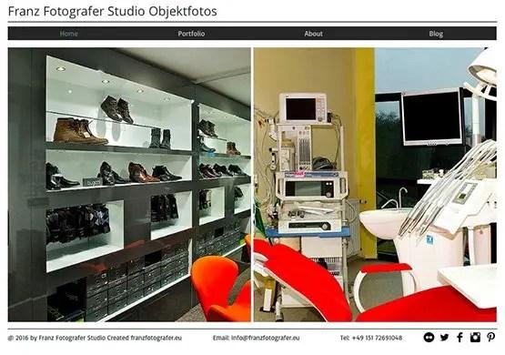Franz Fotografer Studio Objektfotos - Architektur Fotografie