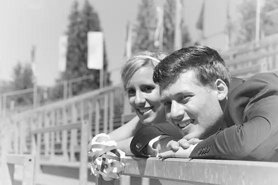 Katja und André - sportlich Hochzeit in Oberstdorf mit Franz Fotografer Studio