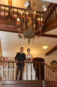 Hochzeitsfoto im Schloss zu Hopferau