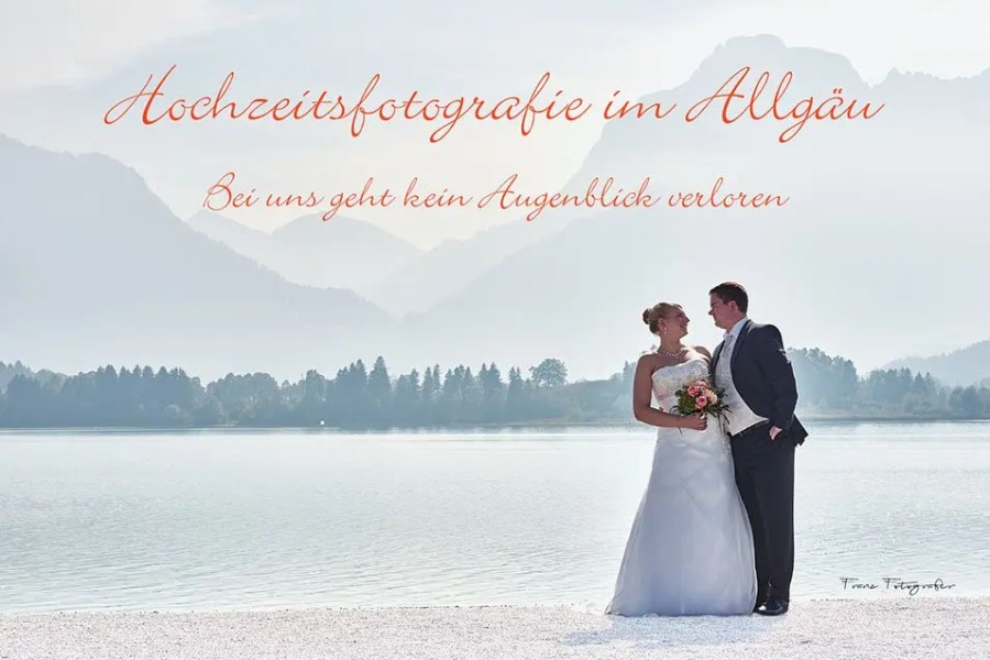 After Wedding Shooting - Festspielhaus Füssen