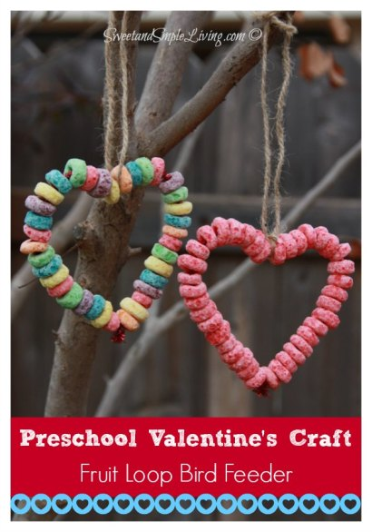 Preschool-Valentine-Crafts-Fruit-Loop-Bird-Feeder