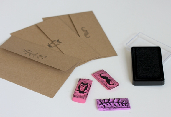 Post image for DIY Eraser Stamps
