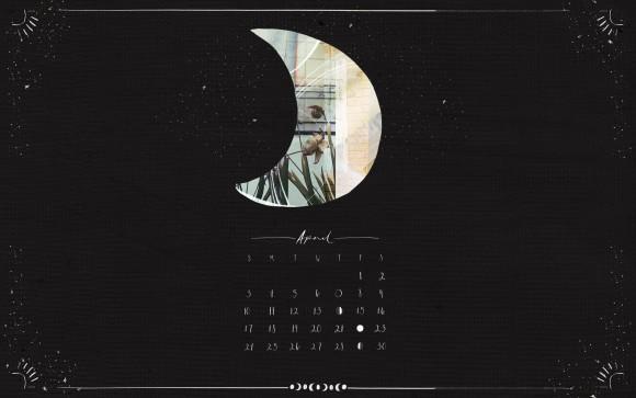Post image for April Moon Calendar Download