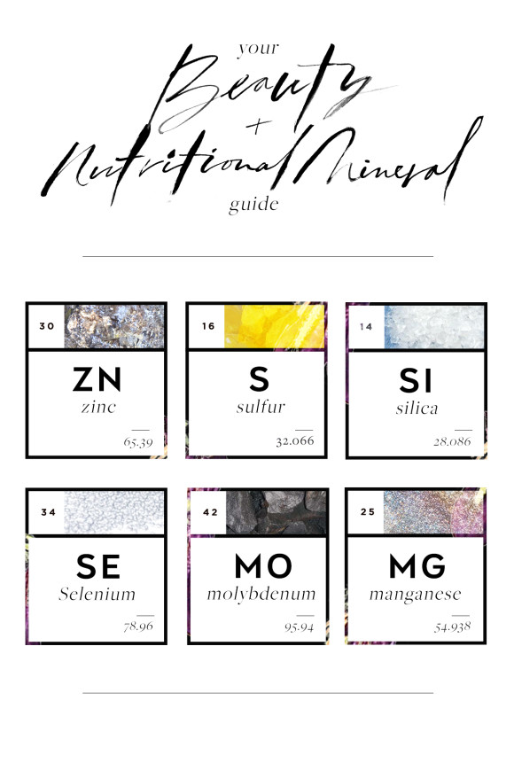 Post image for Six Minerals to Know for Glowing Skin