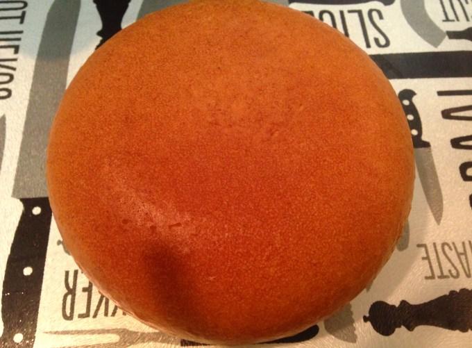 丸いホットケーキ