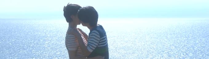 大野が波瑠にキス!
