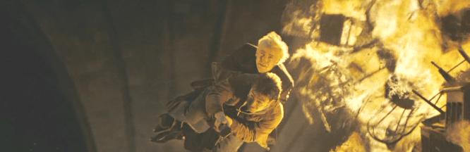 ハリーがドラコを助ける