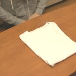 Tシャツをさっとたたむ方法