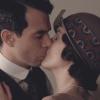 ダウントン・アビー5.第2話.メアリーが旅行でギリンガム卿とキス。
