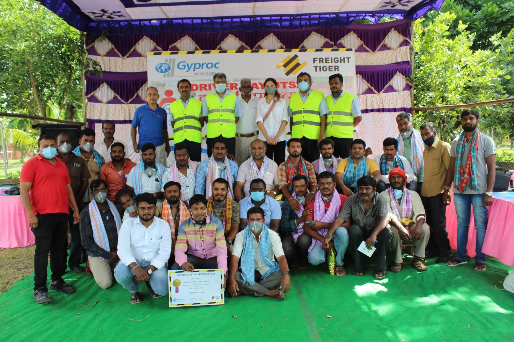 Drivers Day Utsav- thoda jamke with Freight Tiger, Saint Gobain Gyproc and Transport Mitra