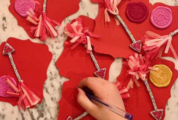 easy kids DIY Valentines