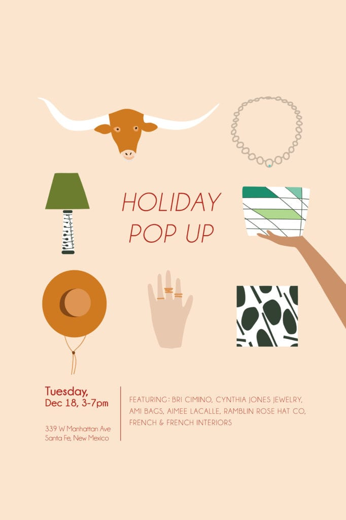 holiday pop up event info