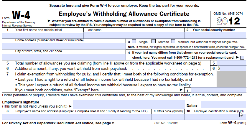 graphic relating to W4 Form Printable named Make Federal W4 PDF - frevvo blog site