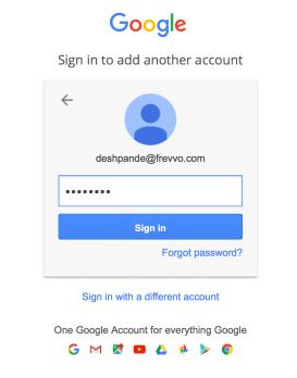 2. Google Apps Credentials