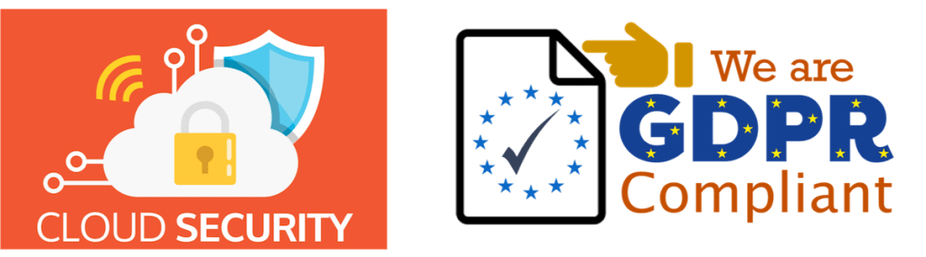 frevvo is cloud secure and GDPR Compliance