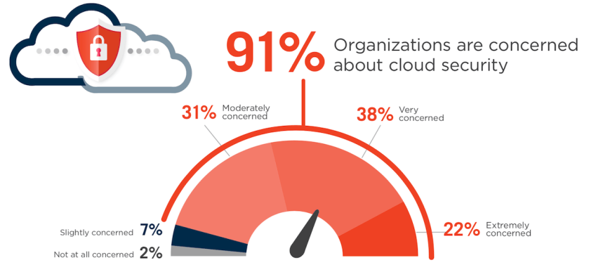 Cloud Security is a concern.