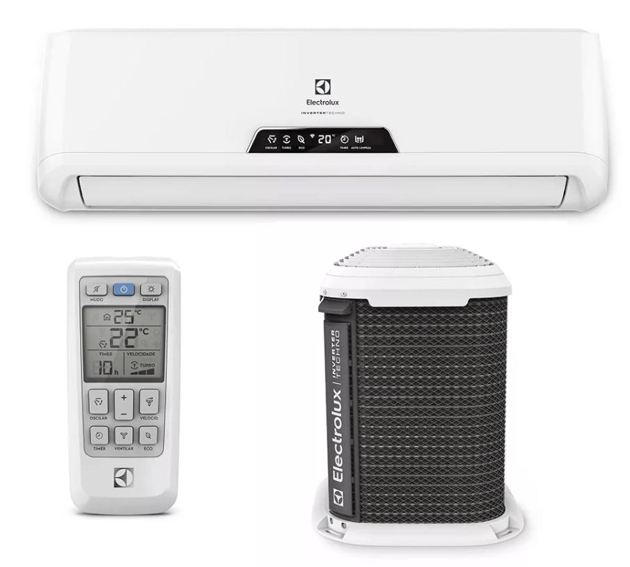 ar-condicionado inverter da Electrolux
