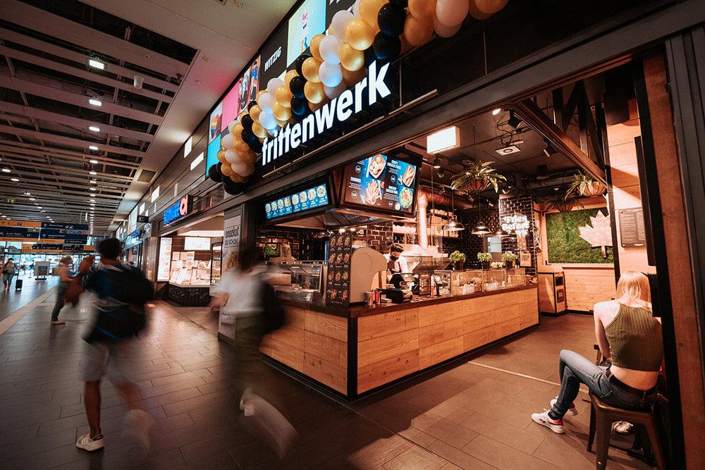 Frittenwerk im Hbf Essen und Münster eröffnet