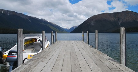 Julien - St Arnaud Lake Rotoiti - Nelson Lakes