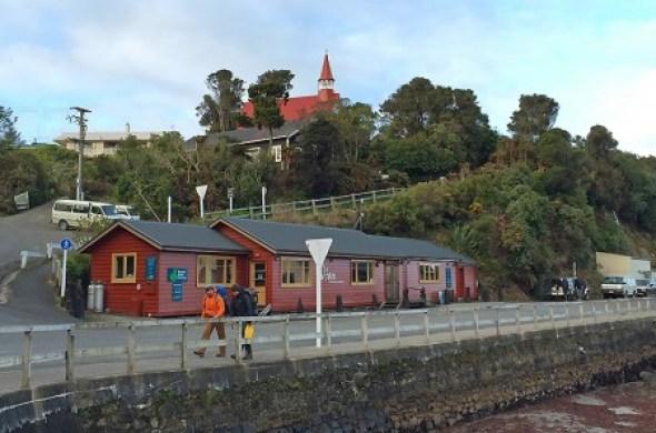 Le port d'Oban à Stewart Island