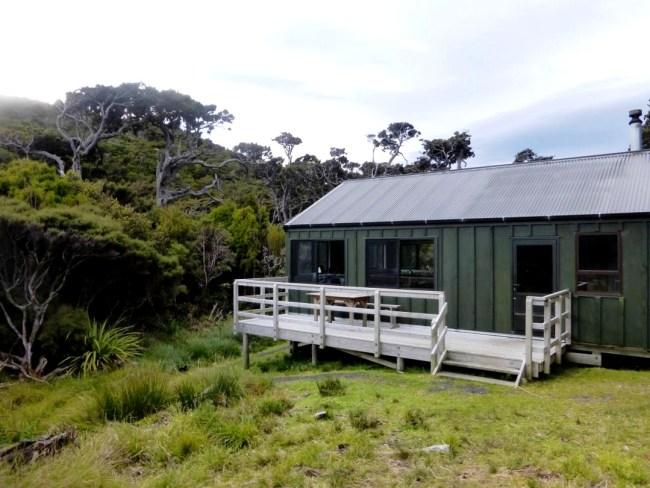 Hutte Stewart Island