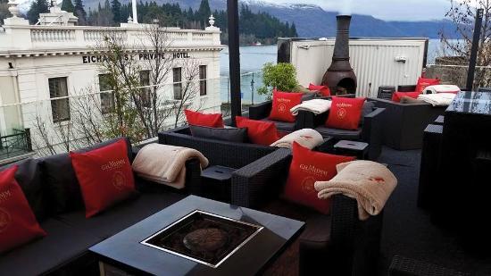 Vue du bar Sundeck Rooftop