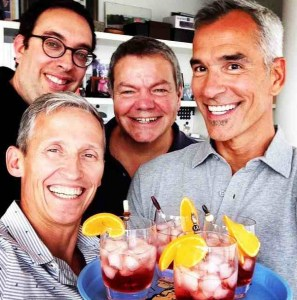 Cocktails with Jerry Mitchell, Elliot Davis and Stiles & Drewe
