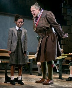 """Miss Trunchbull - headmistress of a school Ofsted might rate as in """"Special Measures"""""""