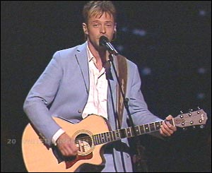 The UK decided that as we weren't going to win anyway, we might as well just stop wasting money - and sent James Fox with a guitar.