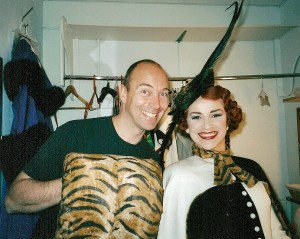 Murray with Sally Ann Triplett: Anything Goes when you're a West End dresser!