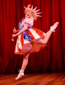 Gemma Sutton in her previous Gypsy role as Dainty June