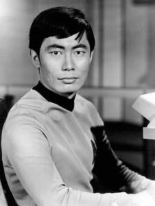 Mr Sulu - always Takei, never tacky...