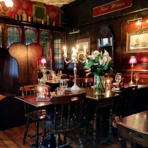 Perhaps our favourite London haunt - the lovely Ship Tavern