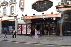 Adelphi Theatre Entrance