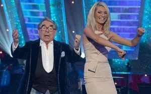 Ronnie Corbett came to the rescue when Bruce Forsyth fell ill