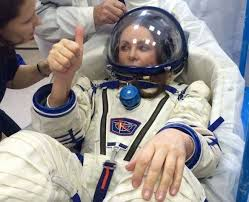 Sarah Brightman training for Outer Space in 2015