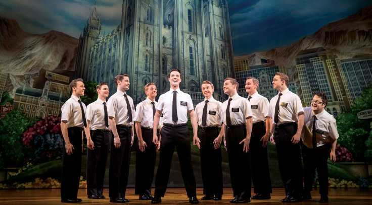 Scene from 'The Book of Mormon' musical London