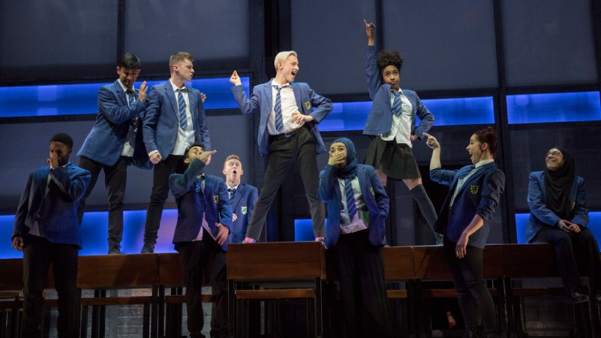 Production shot from 'Everybody's Talking About Jamie' London